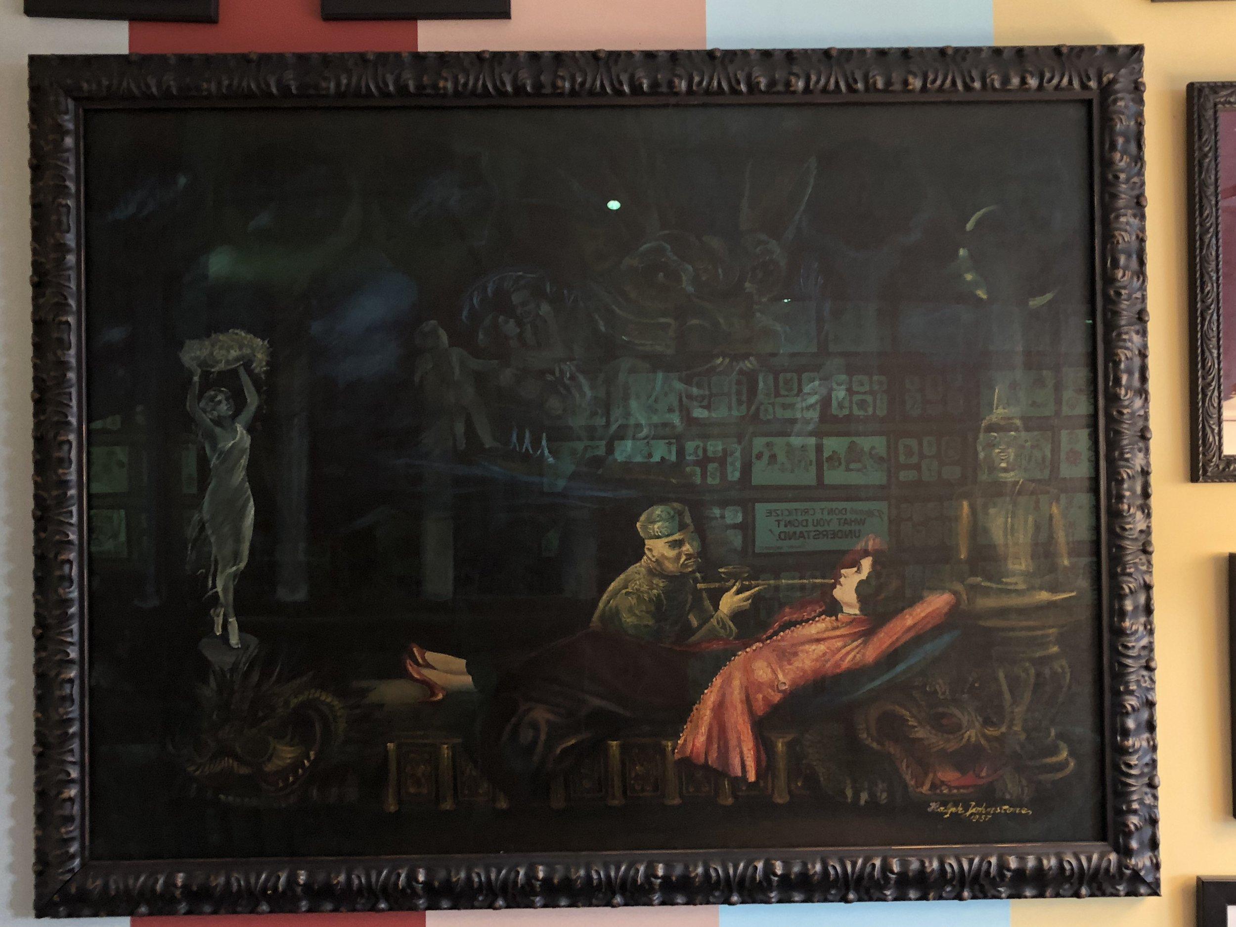 Johnstone painting framed