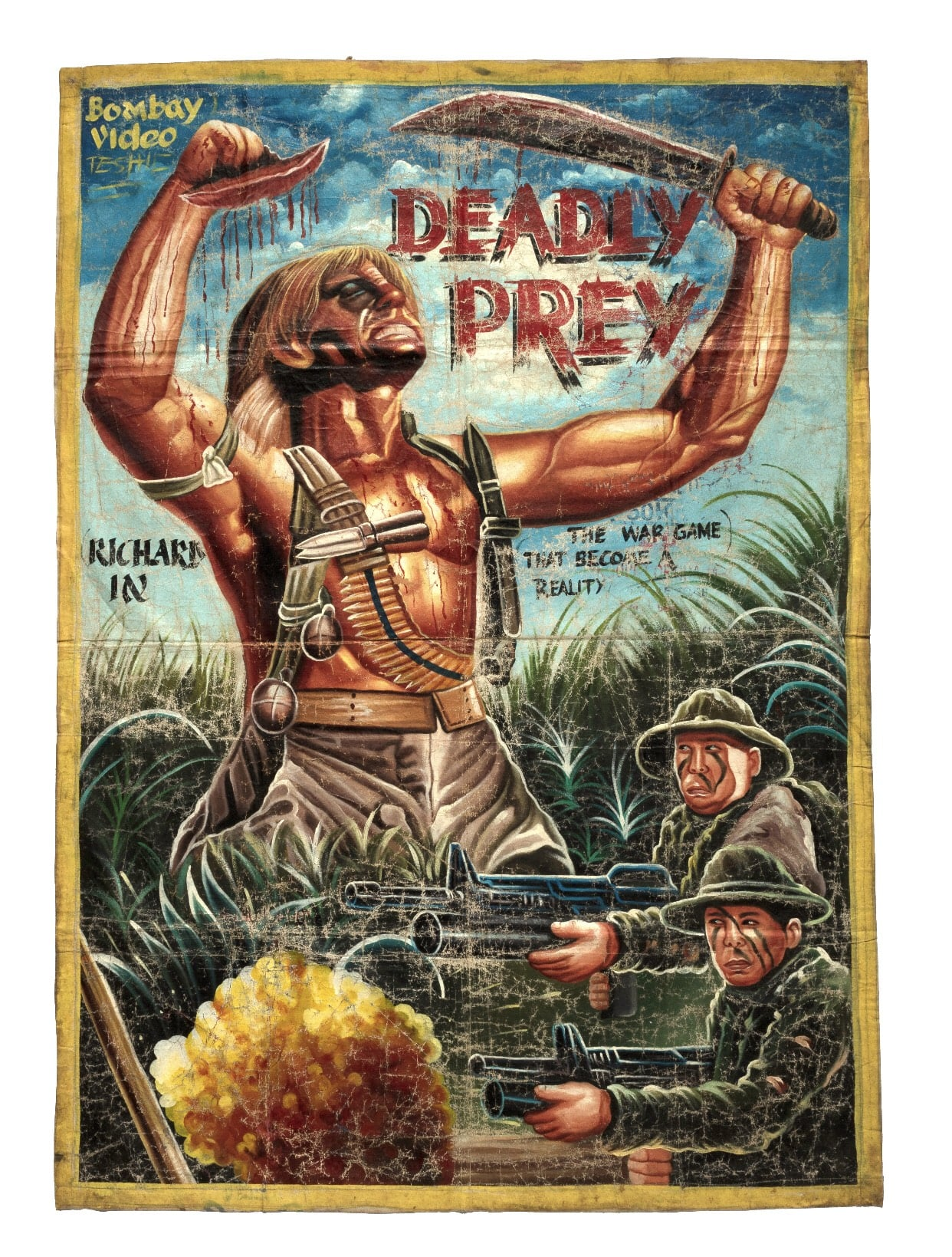 - Deadly Prey Gallery returns to GLT in February with an exhibit showcasing hand painted Ghanaian movie posters, sign boards and sculptures.
