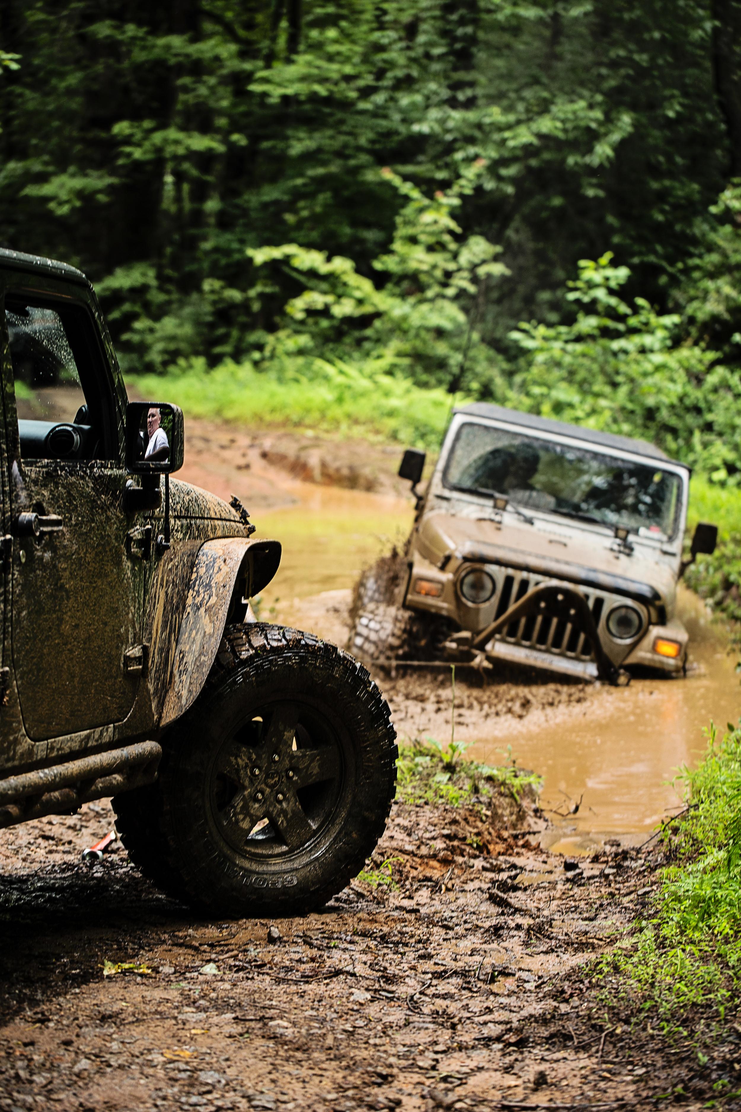 Trail: Warwoman, Rabun County - Northeast Georgia Group: PTR (Piedmont Trail Riders) Photographer: Jen Rigs: Cori M & Tyler H