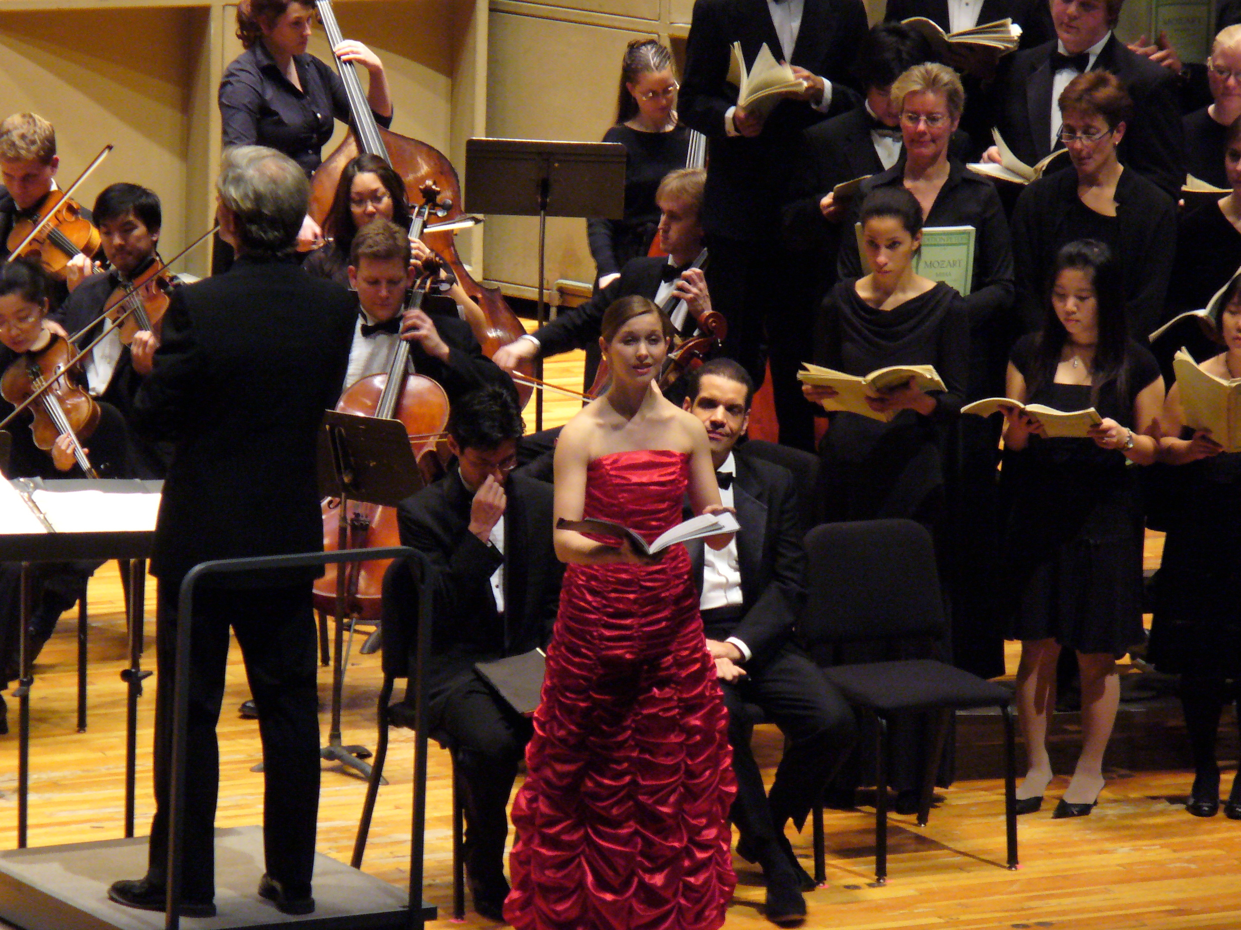 Mozart C Minor Mass with Stony Brook Symphony 2007