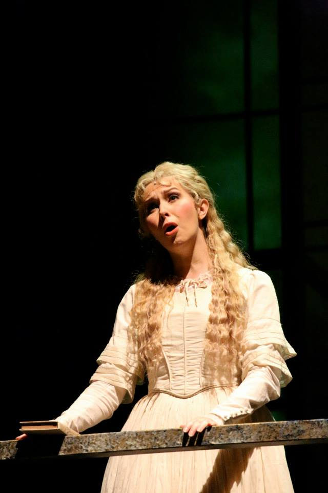 As Johanna ( Sweeney Todd ) with Hawai'i Opera Theatre 2015. © David Takagi