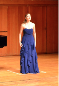Performing at the Finals of the International Hans Gabor Belvedere Competition in Cape Town, 2016.