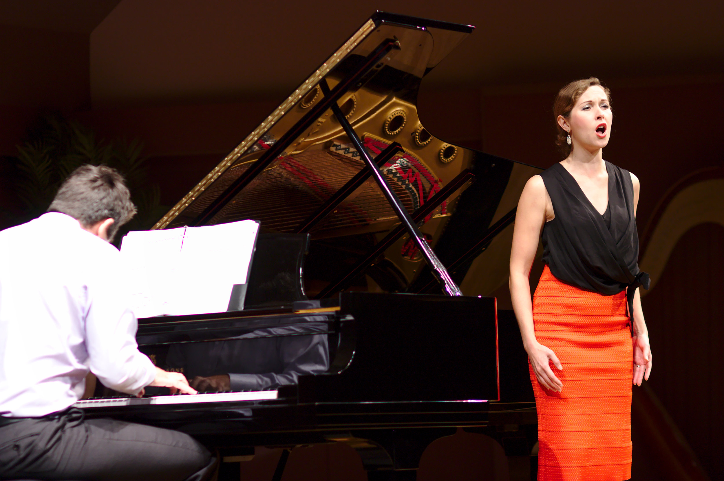In concert with Jonathan Korth.  (c) Aaron Gould