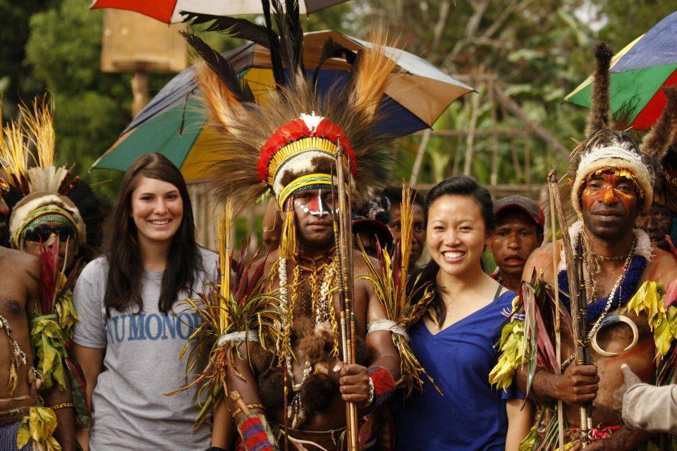Jessica Doerksen in Papua New Guinea Interface Mission program