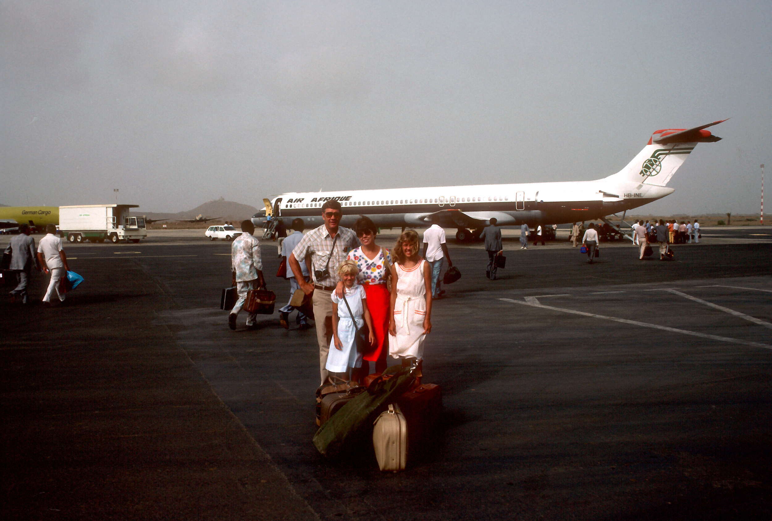 Arrival in Africa