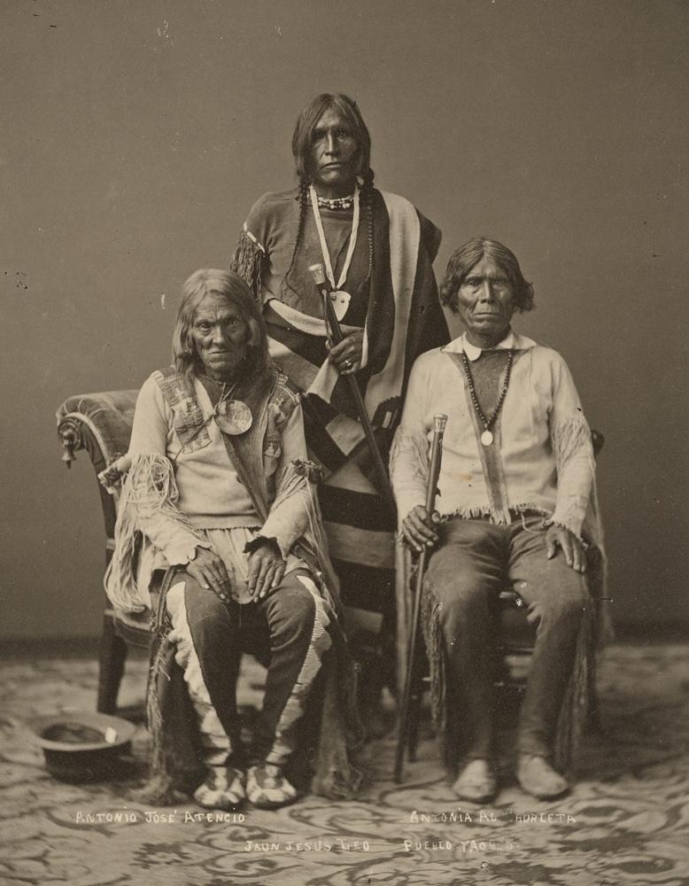 1877 Taos Pueblo tribe leaders.jpg