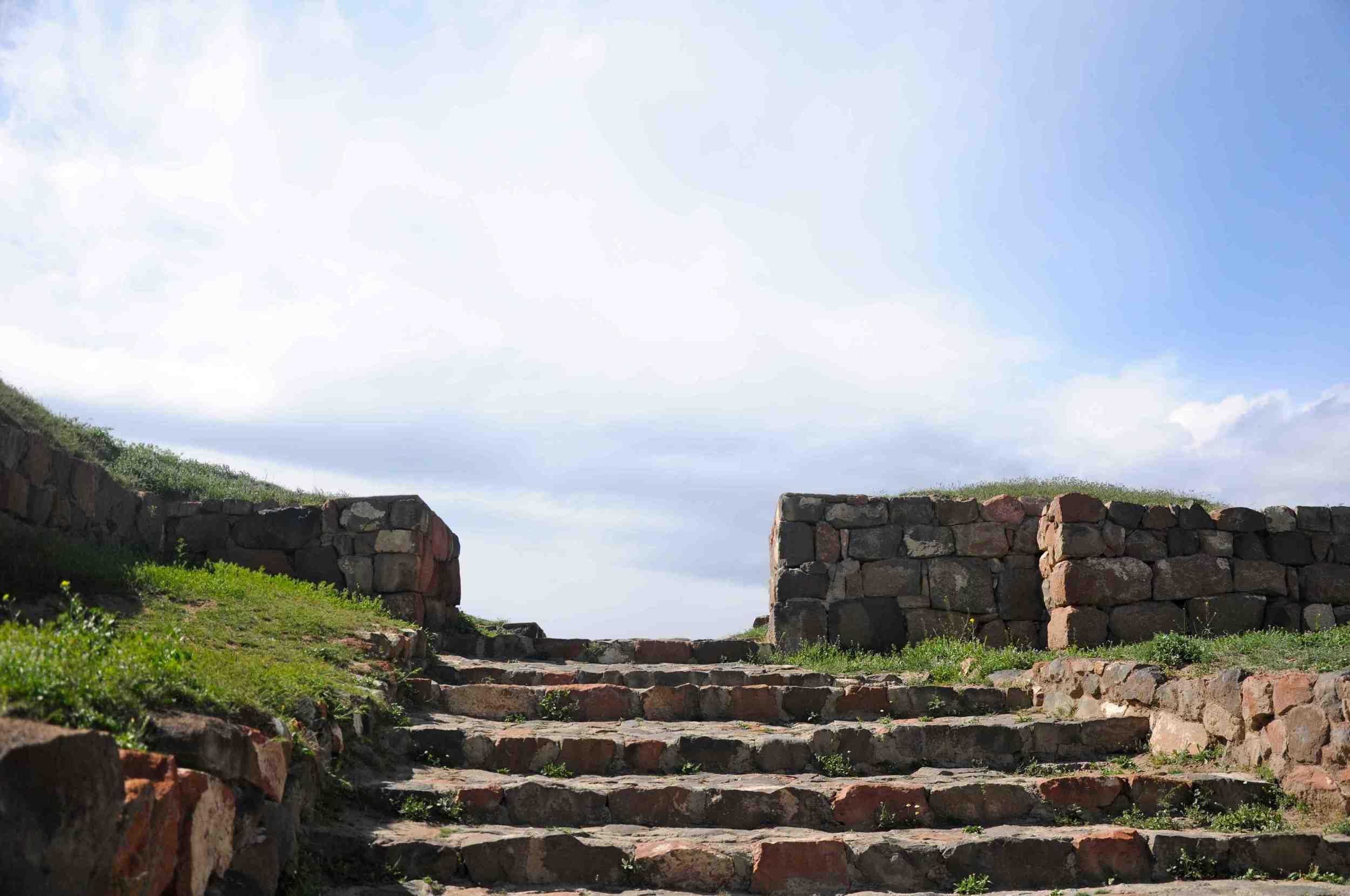 Steps up to Erebuni