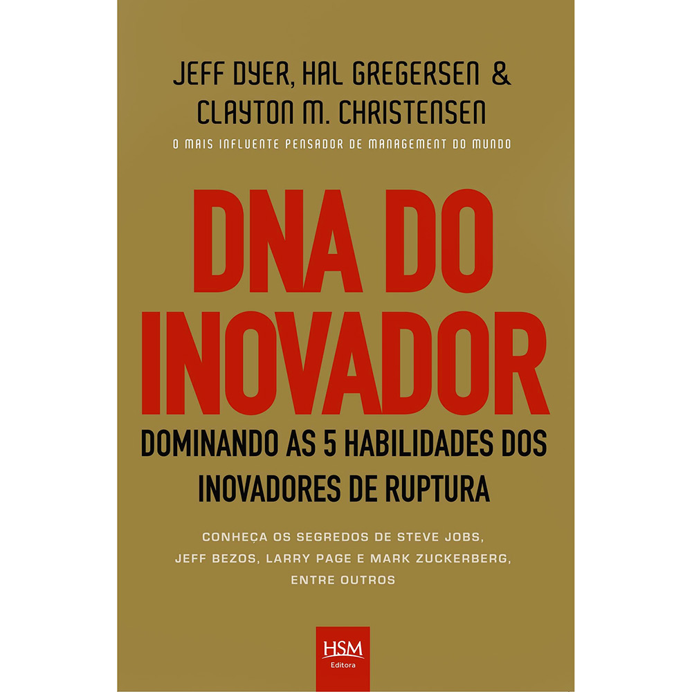 O livro aponta, além das 5 habilidades, cases de grandes e pequenas empresas com modelos inovadores