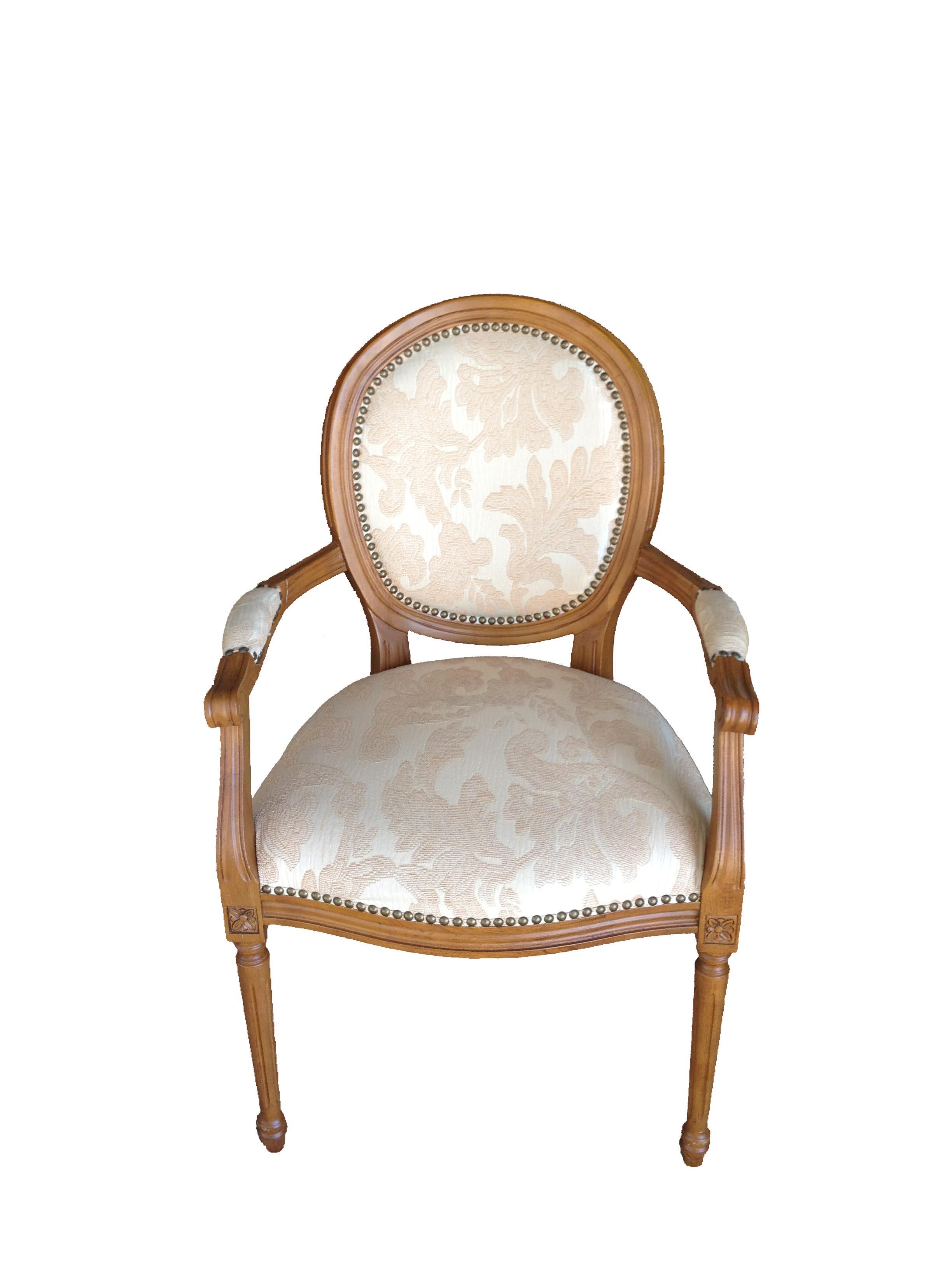 Victorian Cream Chair