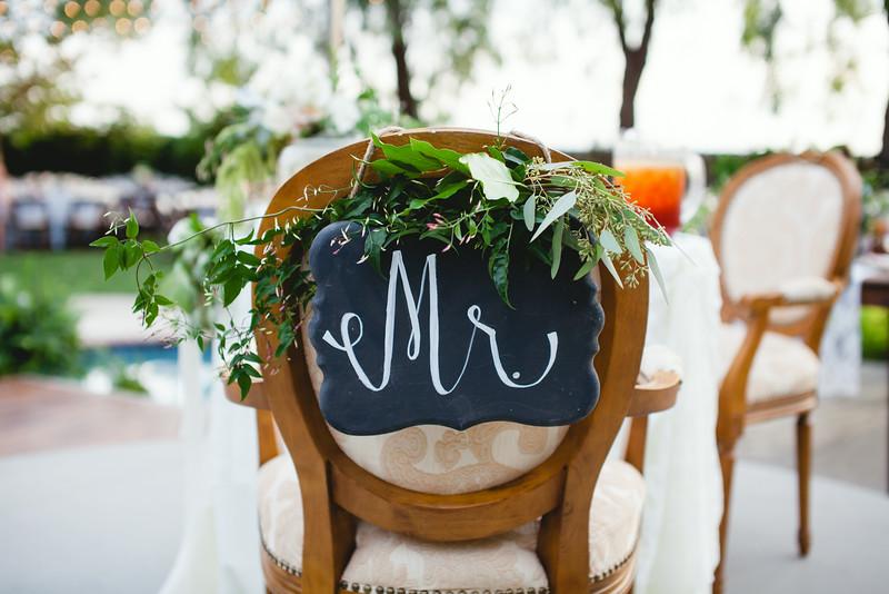 """""""Mr."""" Chalkboard Sign"""