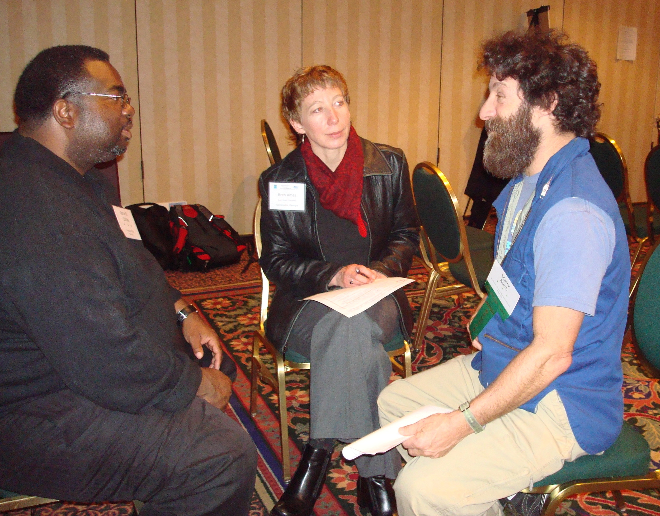 Networking at 2011 conf 2.JPG