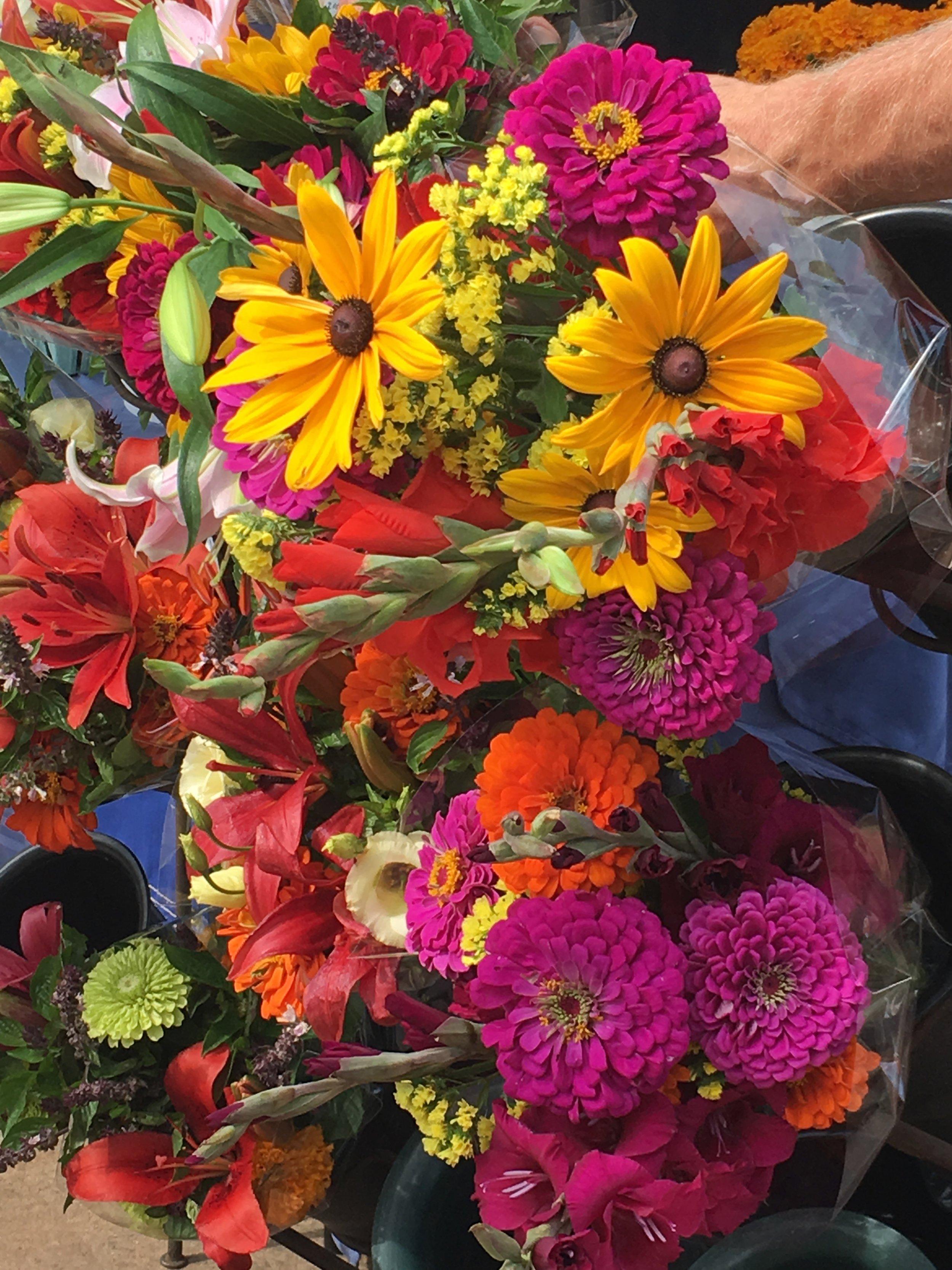 Flowers at Farmers Market Fayetteville AR 2018.jpg