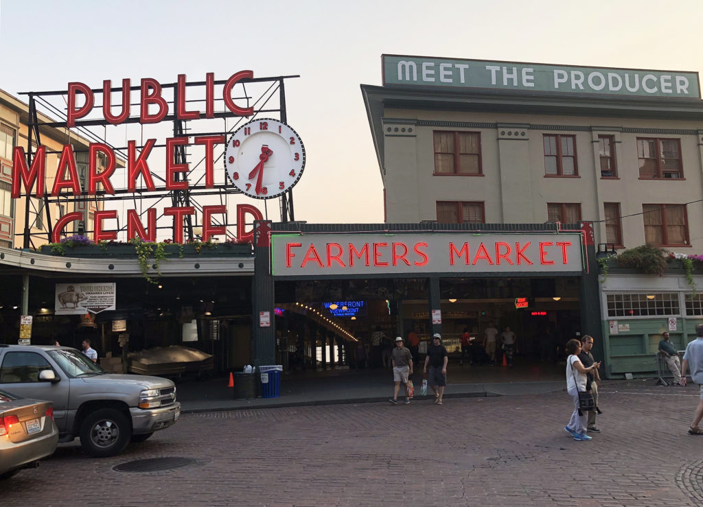Pike Place Farmers Market in Seattle, WA. Photo credit: Stephanie Henry.