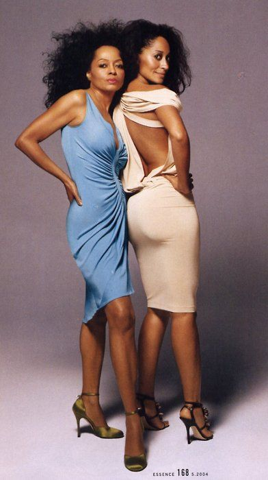 Diana Ross Tracee Ellis Ross