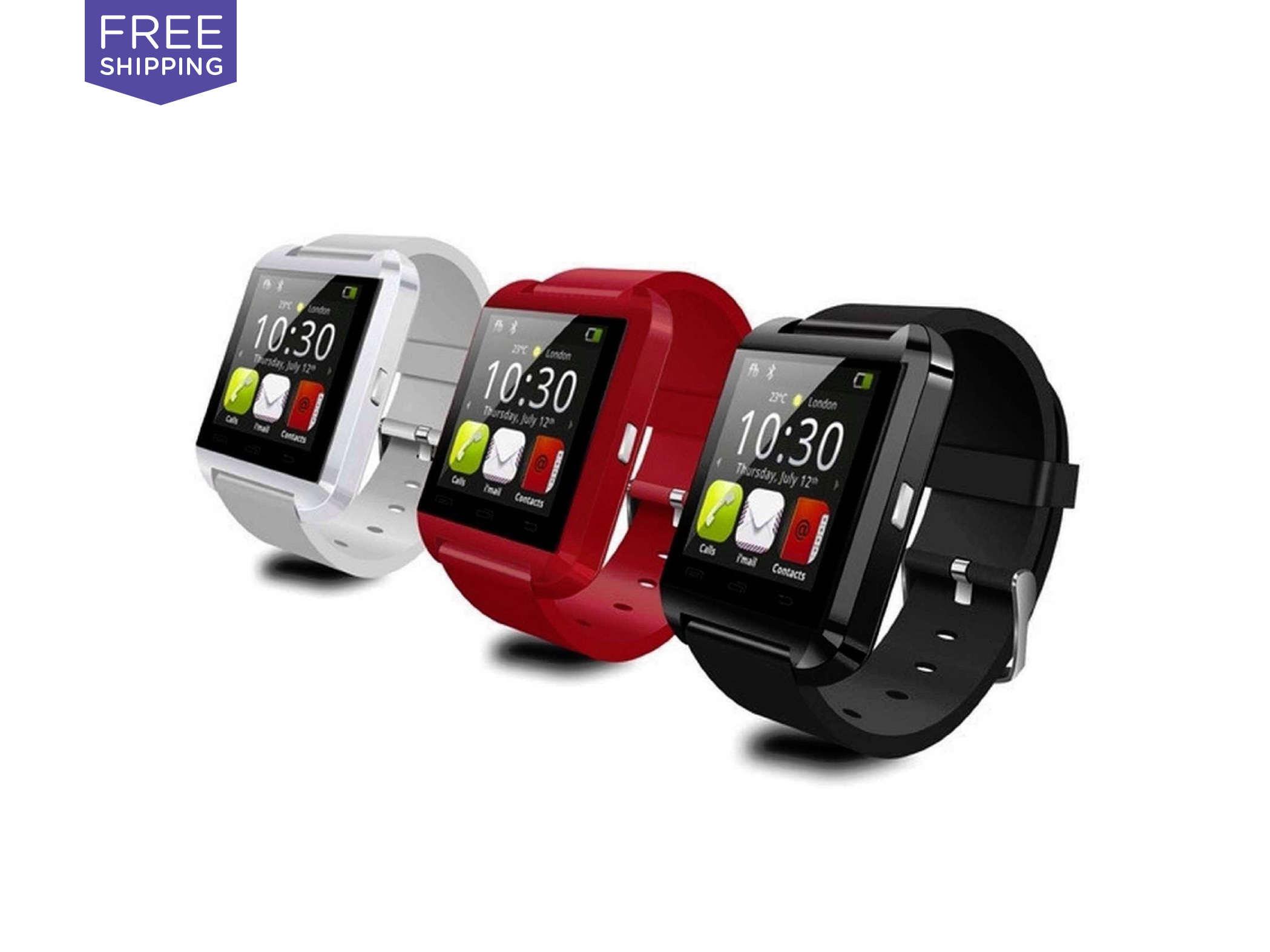 U8 Bluetooth Wristwatch  U8 Bluetooth Wristwatch, $39.99  Deal Run Date Ends: 10/2/15