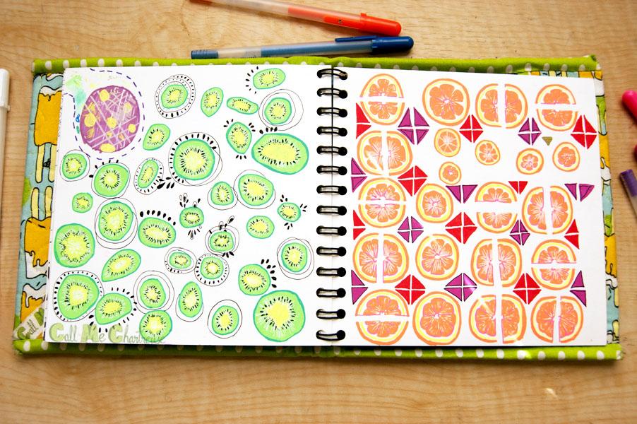 CMC Fruit of the day: kiwi and orange