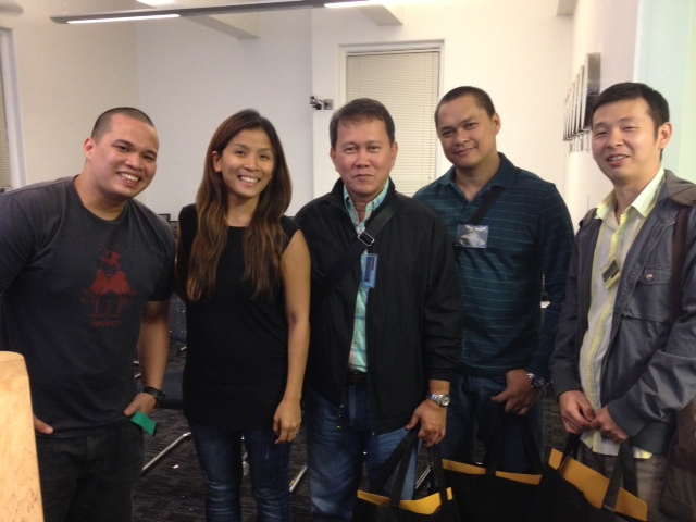 Surgeons from the Philippines with Dr. Jaymie Ang Henry.