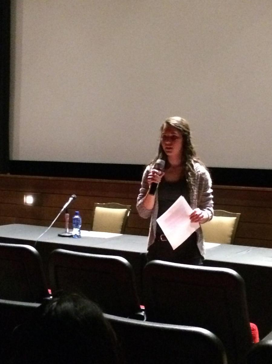 Ana Elise Beckman, University of Wisconsin student.