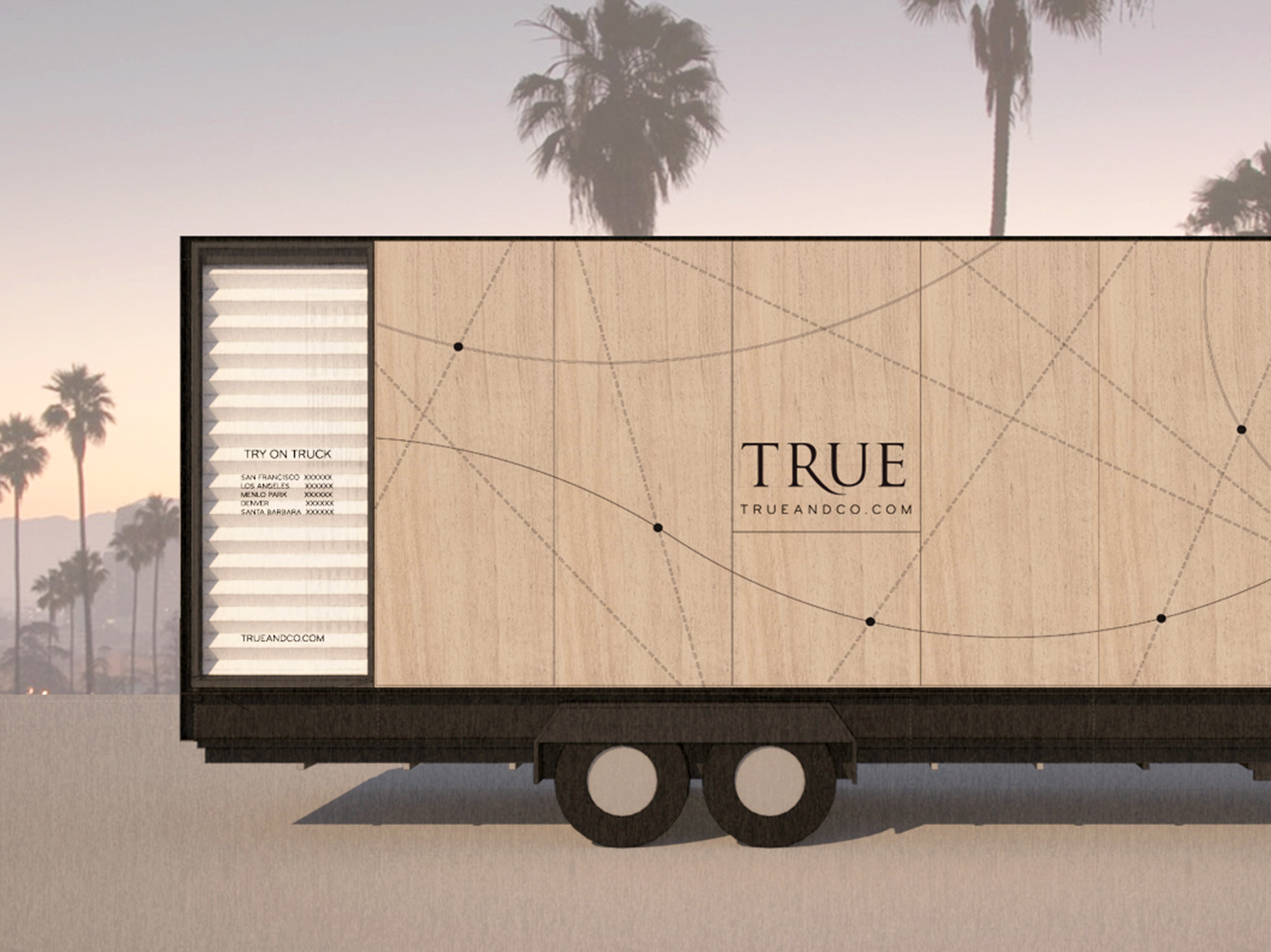 <h2>True&Co. Try-On Truck</h2><h3>web & graphic design </h3>