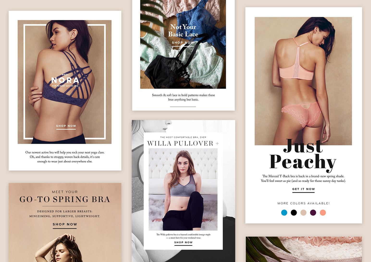 True&Co. SS'16 Fashion E-Commerce Email Capaign Design