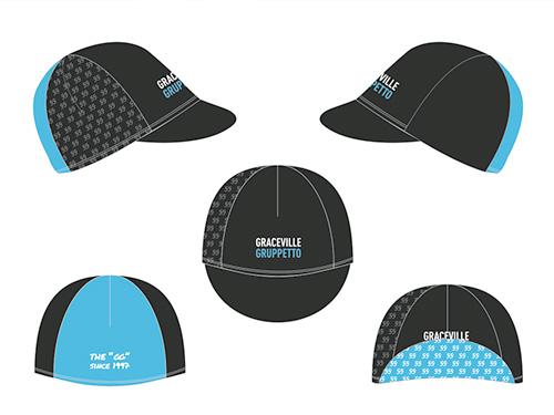 Cycling kit cap design