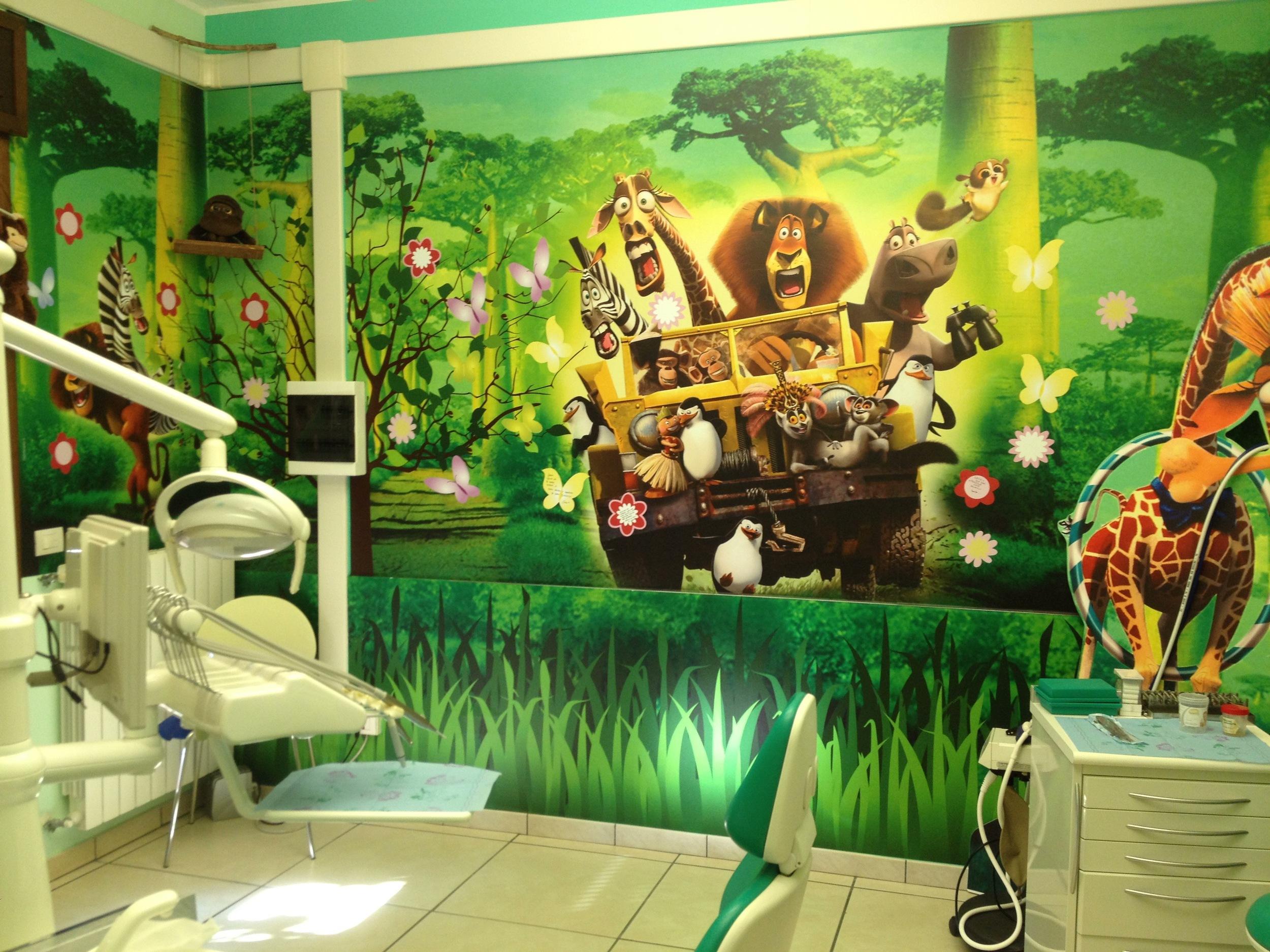 La nuova sala dedicata alle cure dei più piccoli