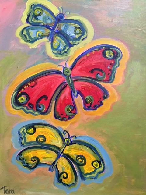 Artwork painted by Tara Jalaliana