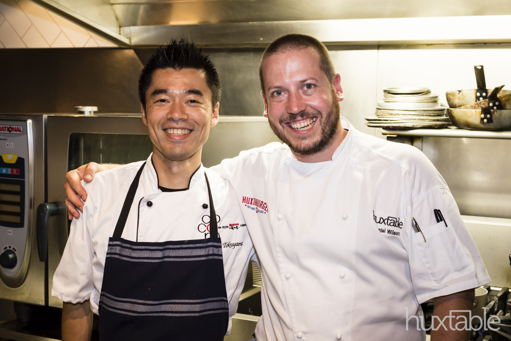 Makoto Tokuyama from Cocoro in Auckland was hosted by Daniel & team for the MFWF2014