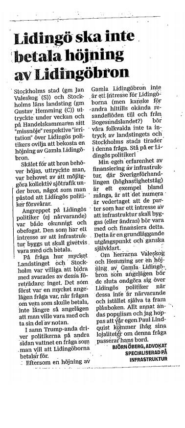 Lidingö ska inte betala höjning av Lidingöbron.png