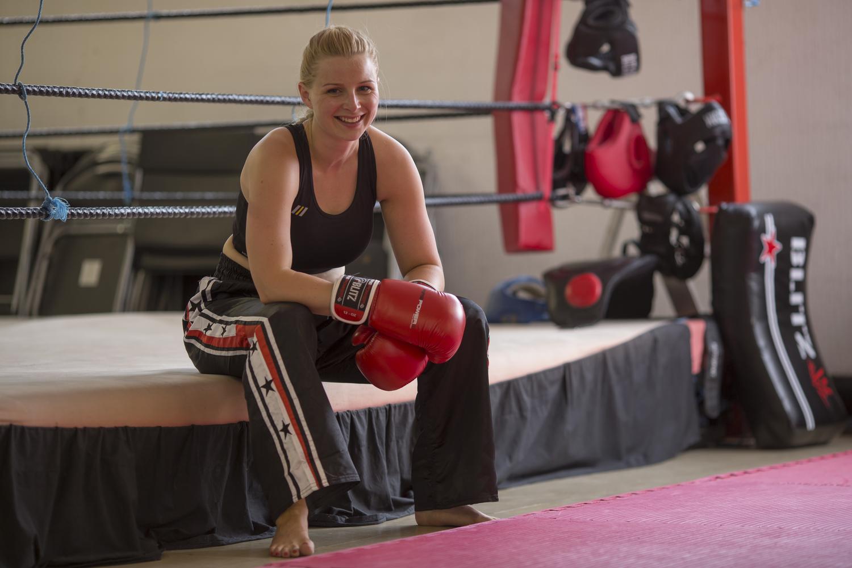 Ladies Only Kickboxing:  Cardio workout teaching practical skills. See More...