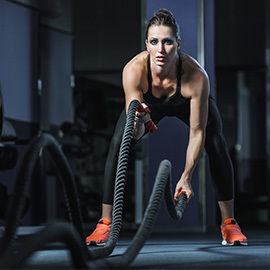 Combat Cardio:  Padwork and conditioning classes for all levels. See More...