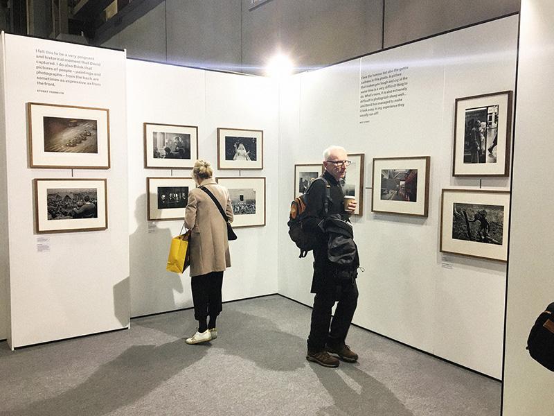 David Hurn's Swaps Exhibition