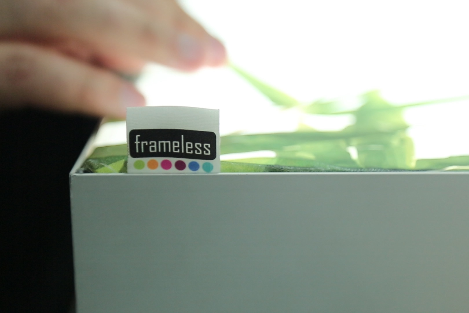 Frameless Lightbox - Frameless® Lightboxes can be fabricated in virtually any size, the bigger the better.