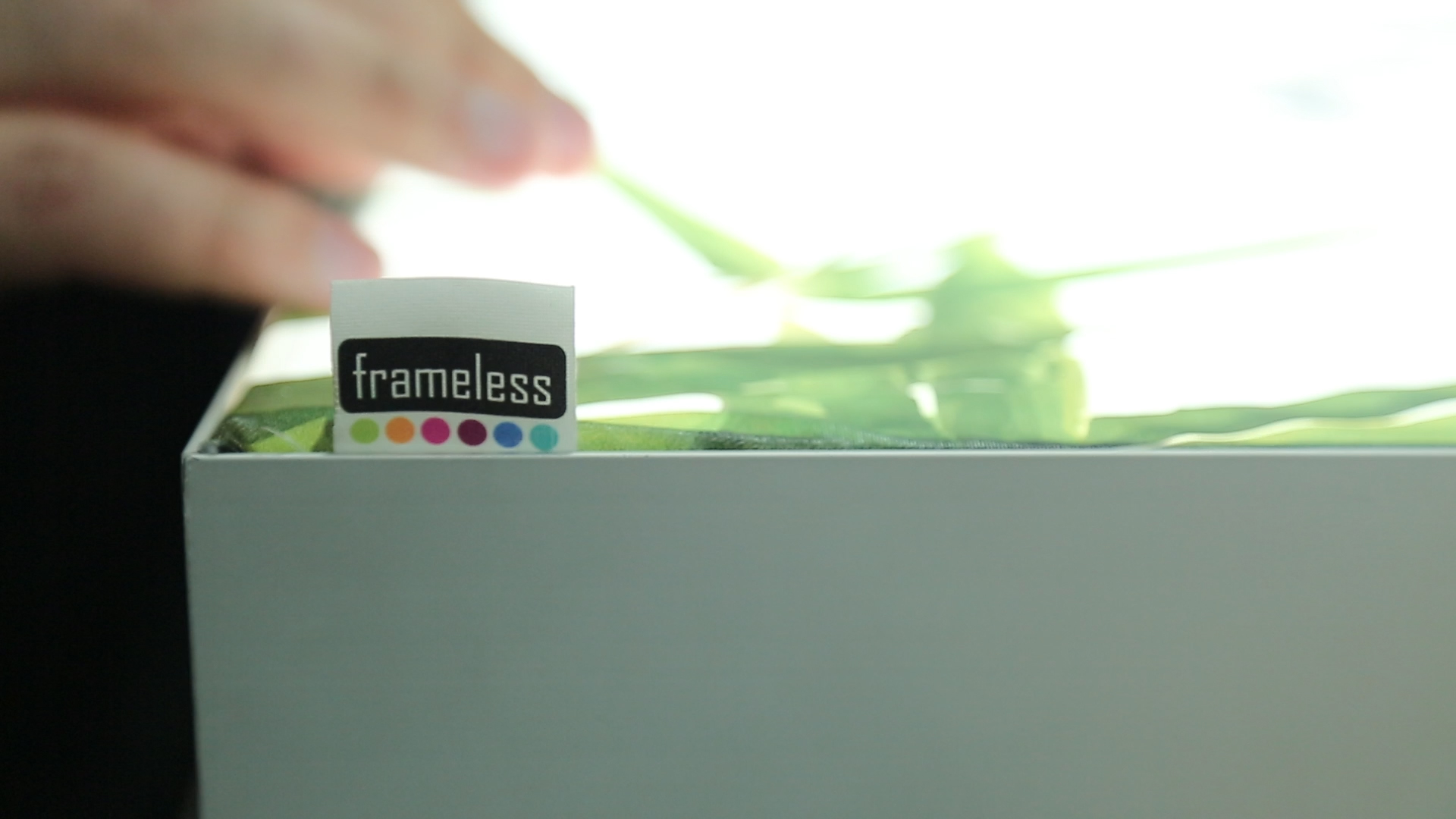 Frameless® Lightbox - Frameless® Lightboxes can be fabricated in virtually any size, the bigger the better.