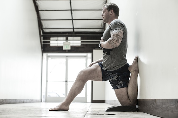 Kelly Starrett, author of 'Becoming a Supple Leopard' and 'Ready to Run', known as Crossfit's Physiotherapist, he is the guru that made myofascial self massage, mobility, and flexibility mainstream cool and part of gym culture.