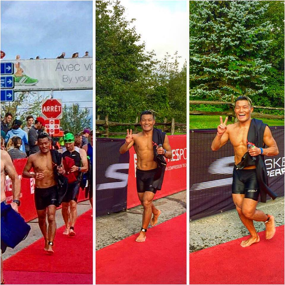 After my swim, I was elated to be alive, and in return, I felt the most alive I've ever been in my life. My fear of water as a child has turned into a 30 year challenge to conquer. That day marked the day I overcame my fear, and made it a part of me. The 3.8km swim took me 1 hour and 28 minutes. I still look back in disbelief.