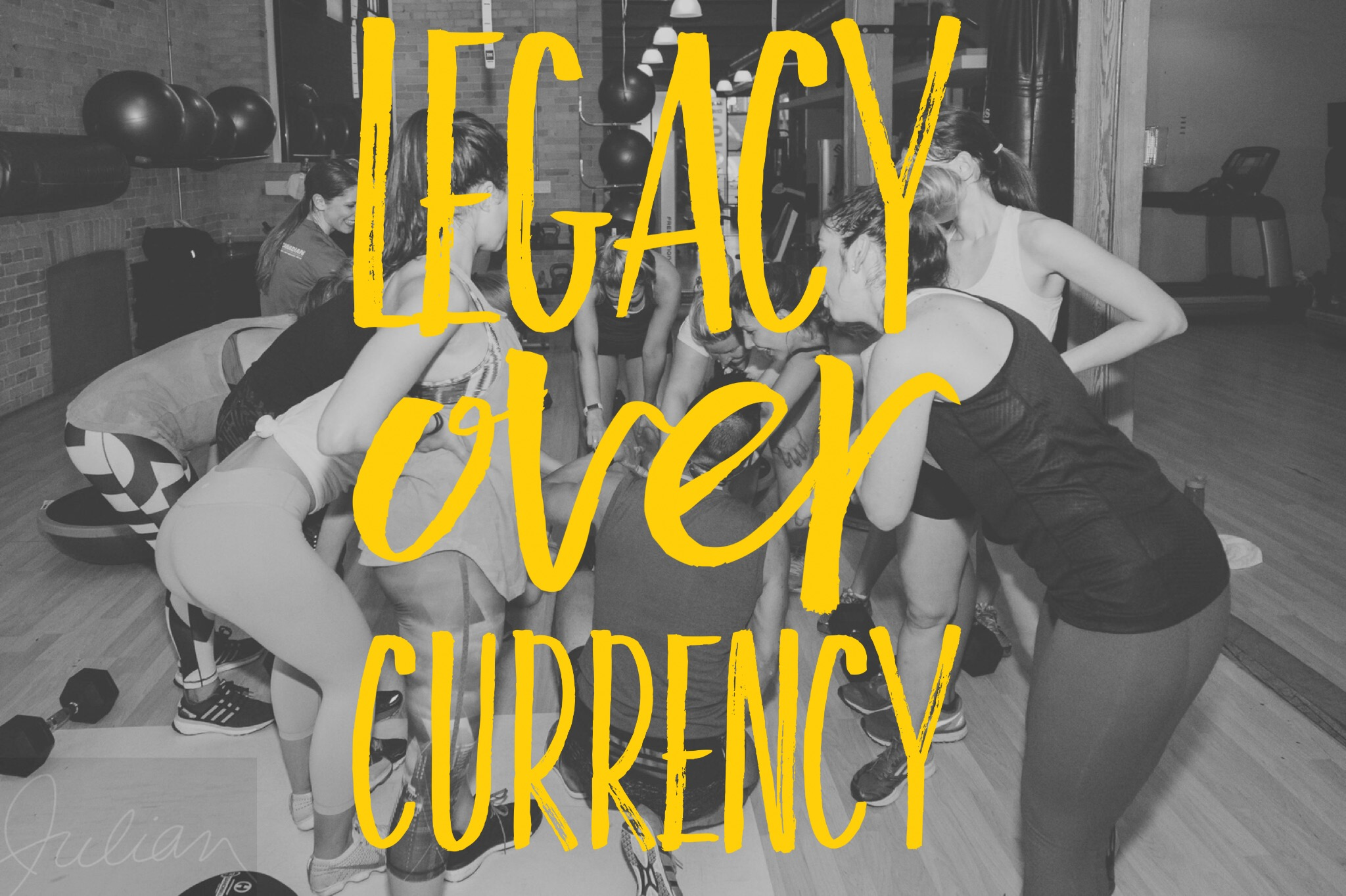LEGACY OVER CURRENCY   A legacy is built upon enlightened action: living what you love without compromise, leading by example without expectation, and leaving an impact without words. No money can match the memories you make. Take stock of the stories you author, and write the book you've always dreamt of reading.