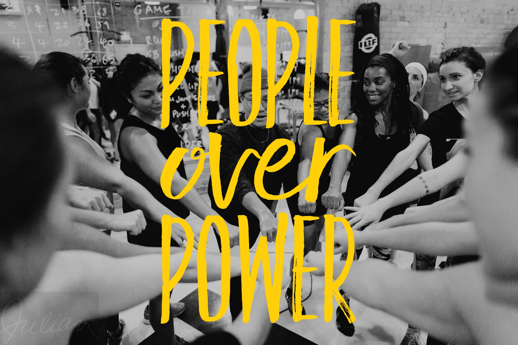 "PEOPLE OVER POWER   ""The day the power of love overrules the love of power, the world will know peace."" ― Mahatma Gandhi"