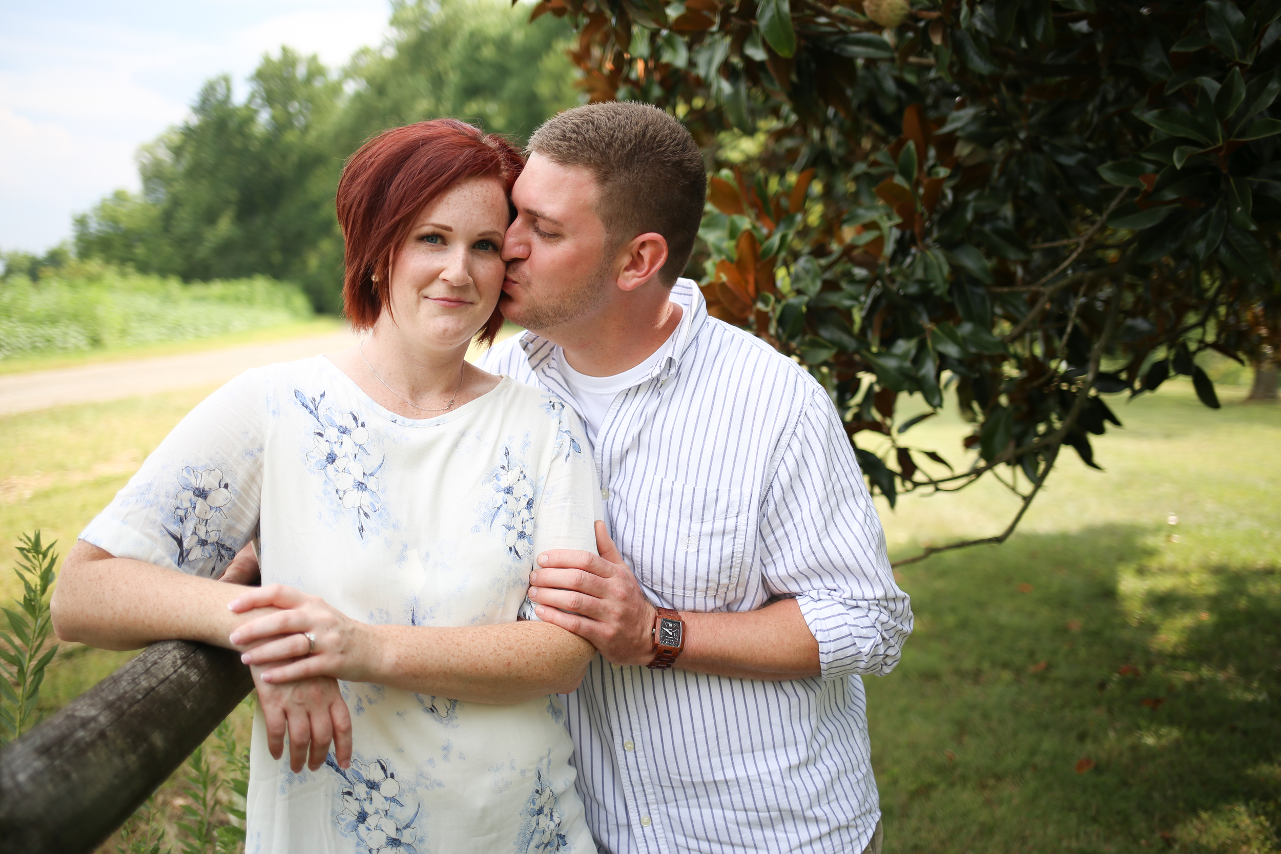 Sam Davis Home Engagement Picture - Whit Meza Photography