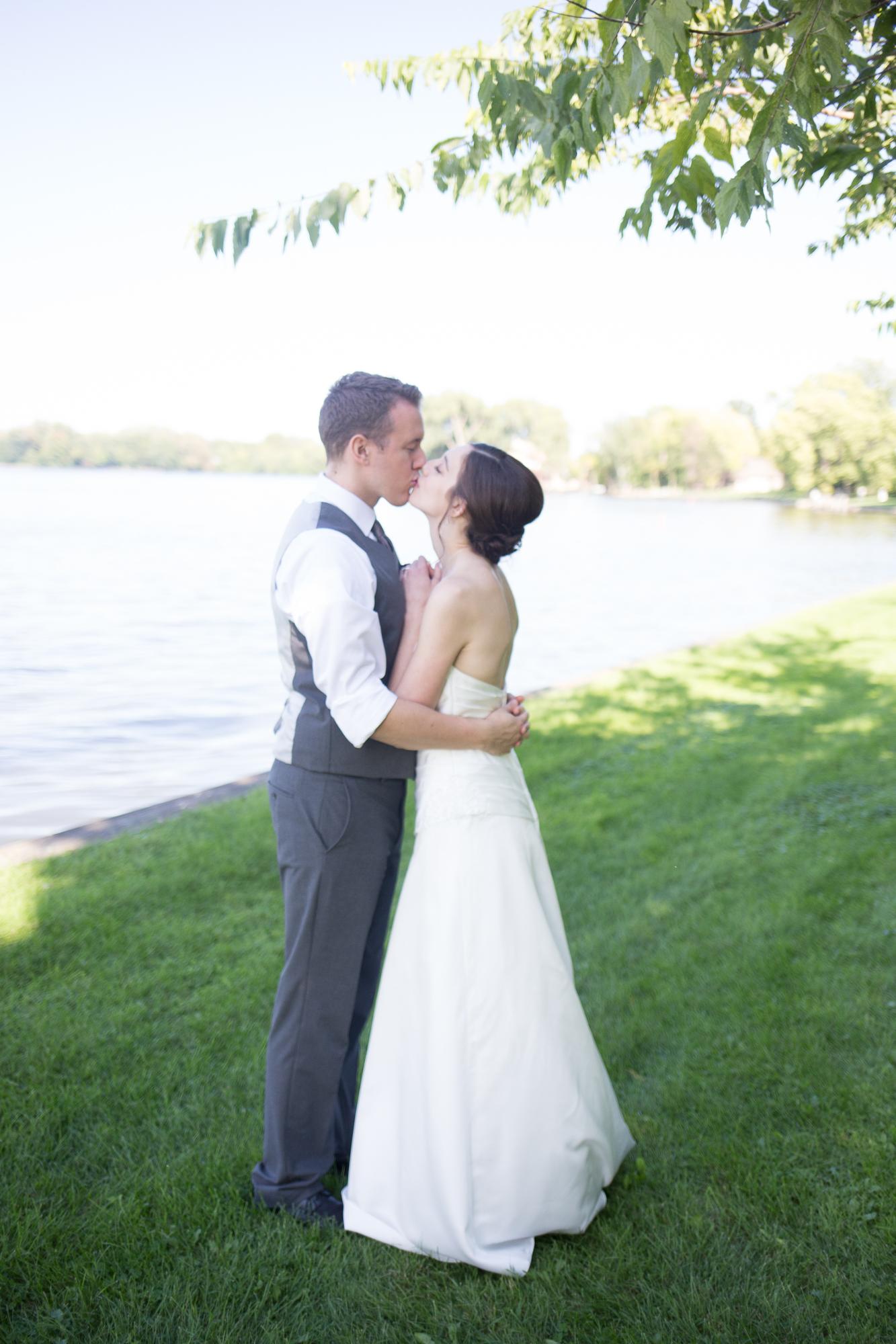 Neenah Wedding at Riverside Park in Wisconsin -Whit Meza Photography