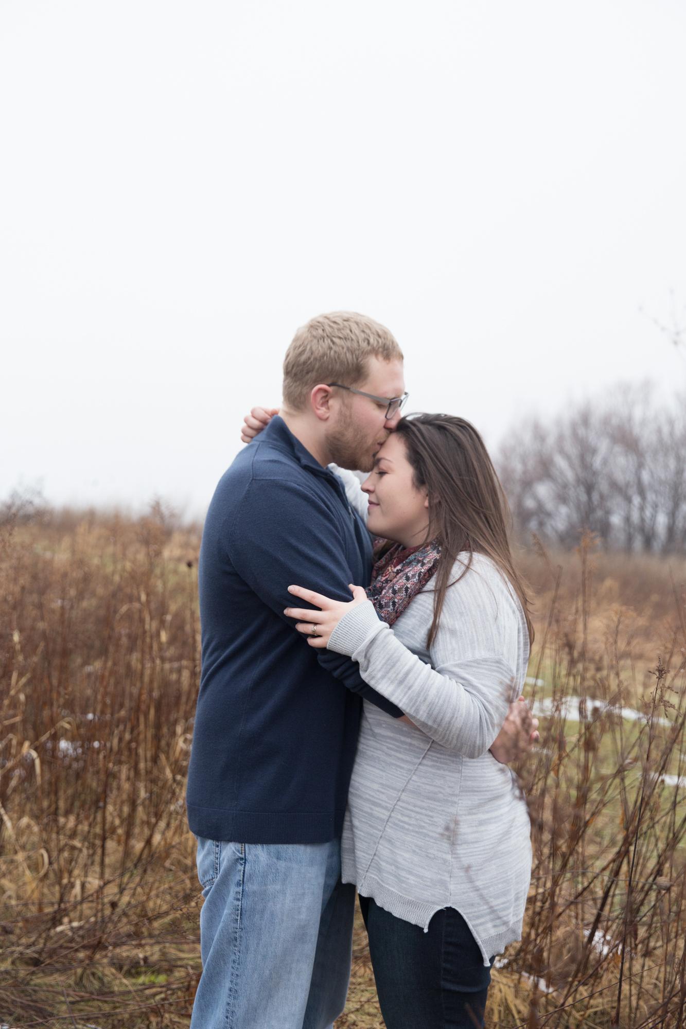 Lake Farm County Park Madison WI Engagement - Whit Meza Photography