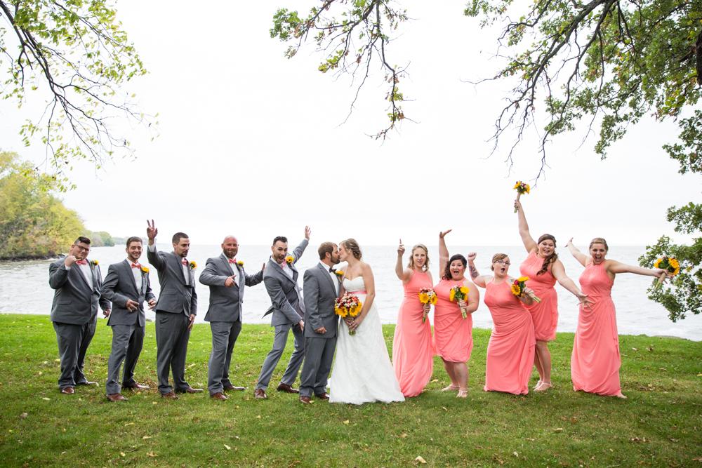 Oshkosh Wisconsin Wedding at La Sures Banquet Hall - Whit Meza Photography