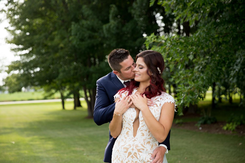 Brighton Acres Oshkosh Wisconsin Barn Wedding - Whit Meza Photography