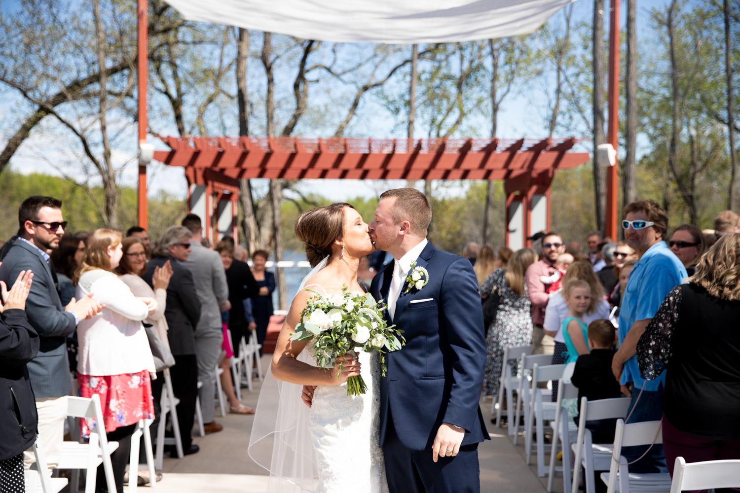 xLa Crosse Wedding at Celebrations on the River and Charmant Hotel - Whit Meza Photography