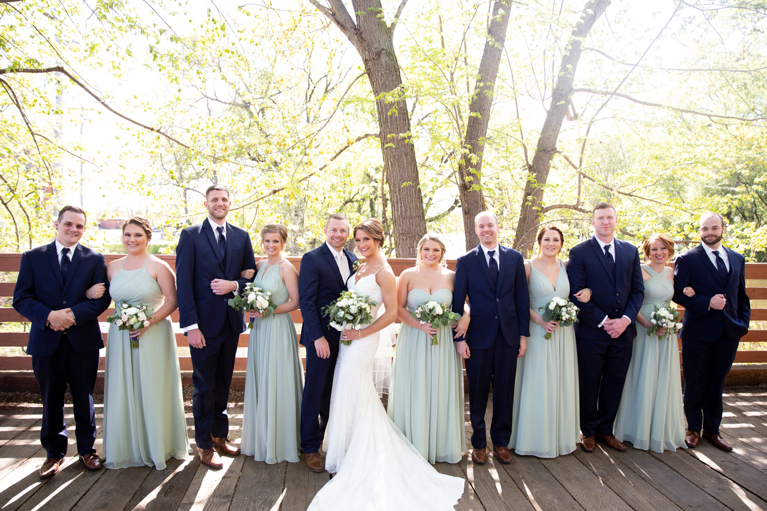 La Crosse Wedding at Celebrations on the River and Charmant Hotel - Whit Meza Photography