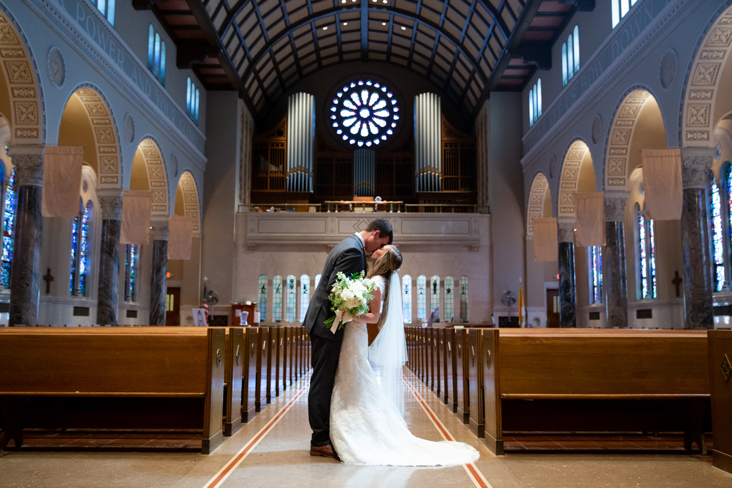 Catholic Wedding in Milwaukee at Hilton City Center