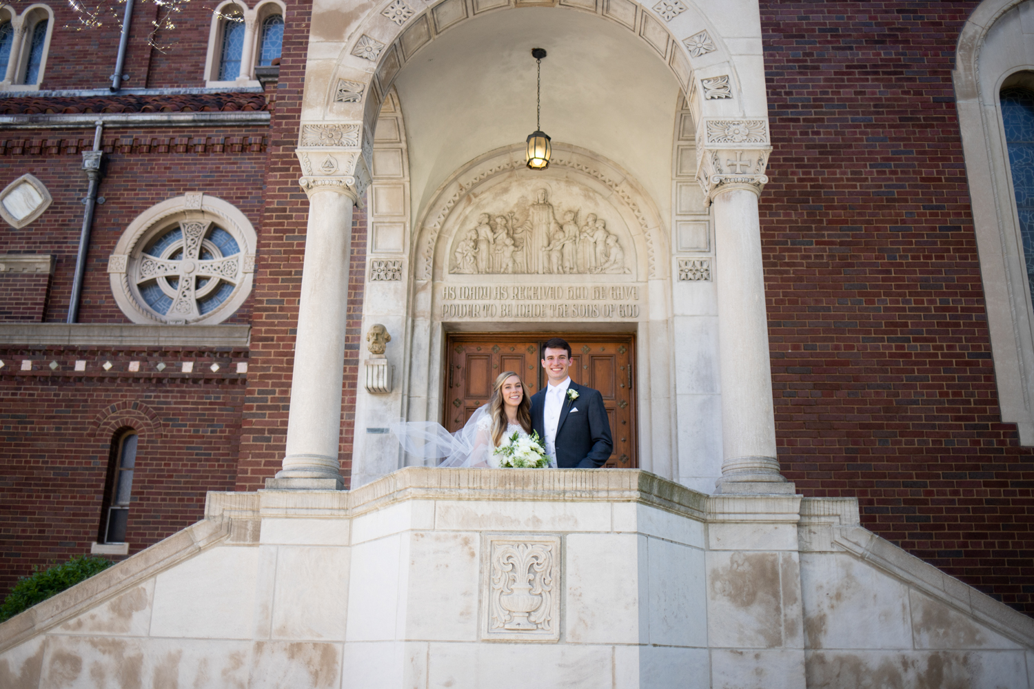 Catholic Wedding at Hilton City Center in Milwaukee, WI - Whit Meza Photography