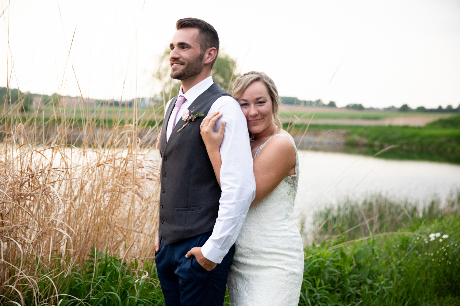 Romantic and Rustic Backyard Wedding in Wisconsin - Whit Meza Photography
