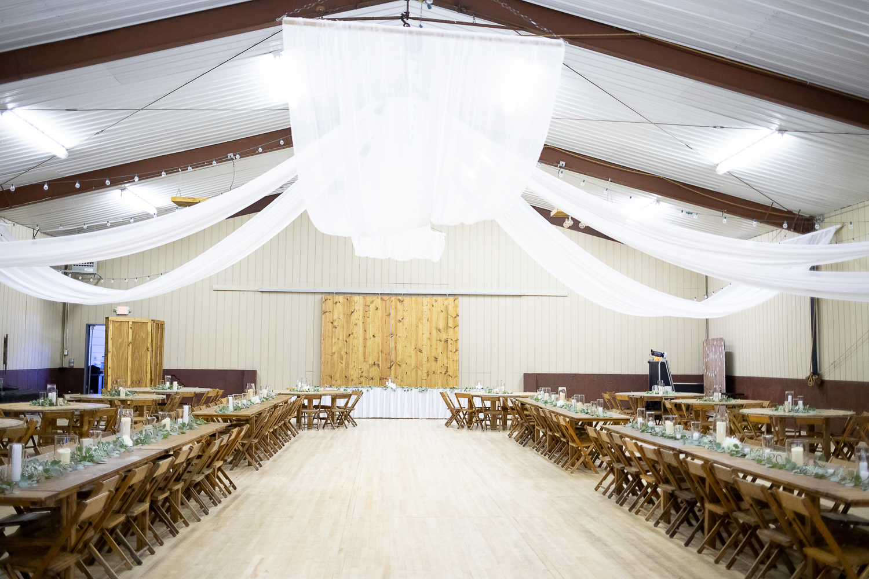 Wisconsin Barn Venue at Brighton Acres in Oshkosh Wisconsin - Whit Meza Photography