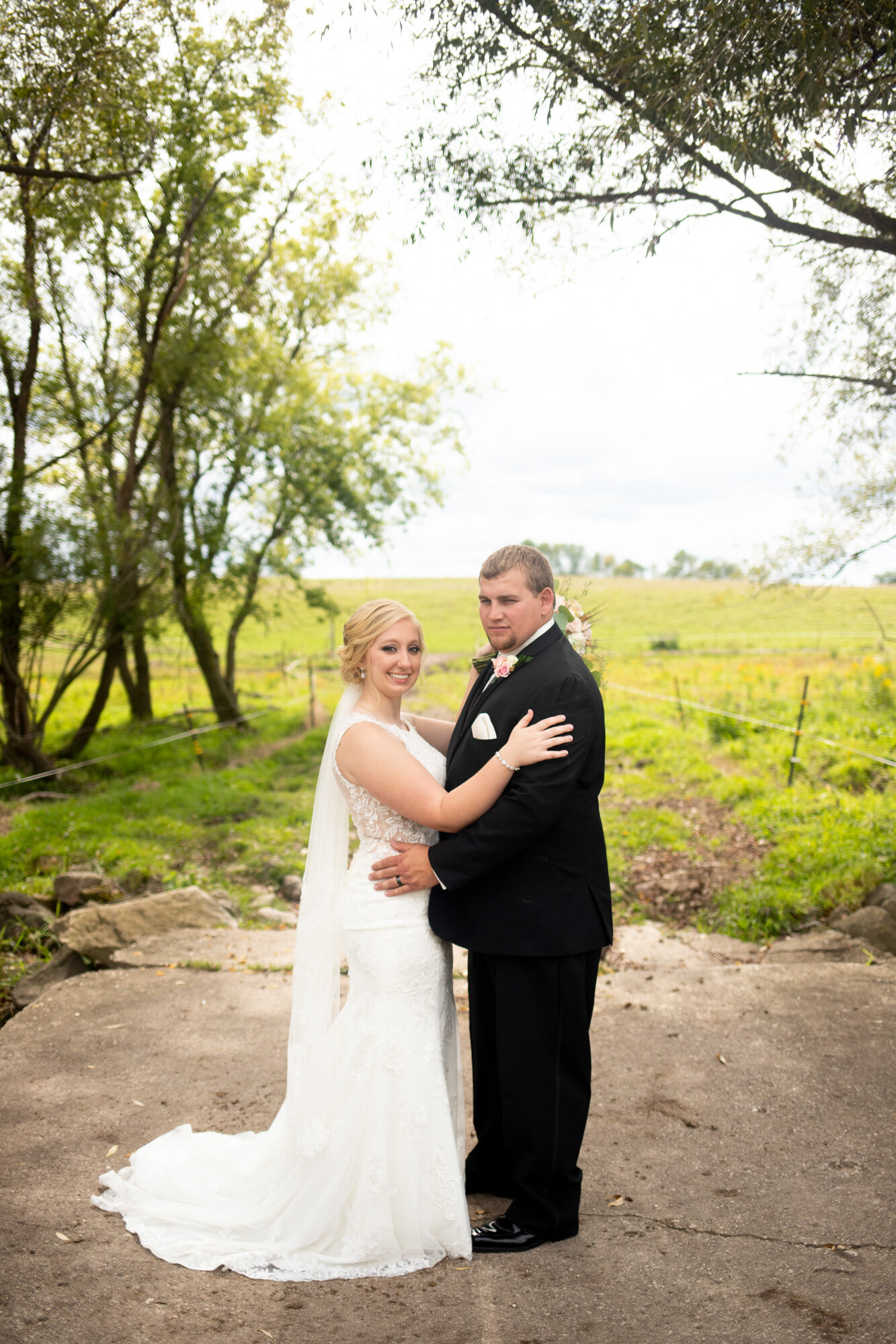 Rustic Hometown Wedding at Cobblestone Creek in Brillion, Wisconsin - Whit Meza Photography